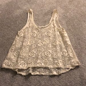 Lace forever 21 top